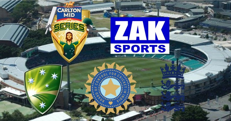 2014-15 Carlton Mid Tri-Series | Game 3 | England v India | LIVE from the GABBA!