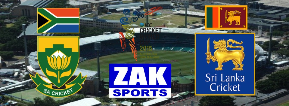 2015 ICC Cricket World Cup | Day 33 | Match 43 | 1st QF | South Africa v Sri Lanka | LIVE from the Sydney Cricket Ground
