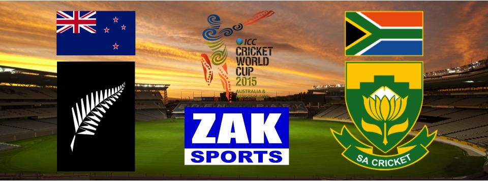2015 ICC Cricket World Cup | Day 39 | Match 47 | 1st SF | New Zealand v South Africa | LIVE from Eden Park, Auckland