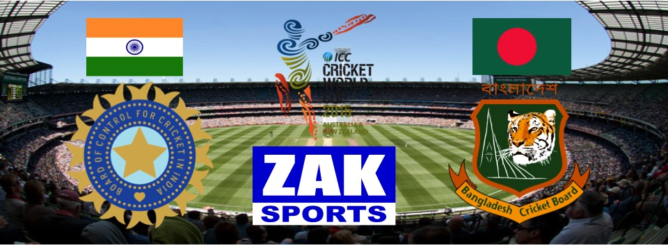 2015 ICC Cricket World Cup | Day 34 | Match 44 | 2nd QF | India v Bangladesh | LIVE from the Melbourne Cricket Ground