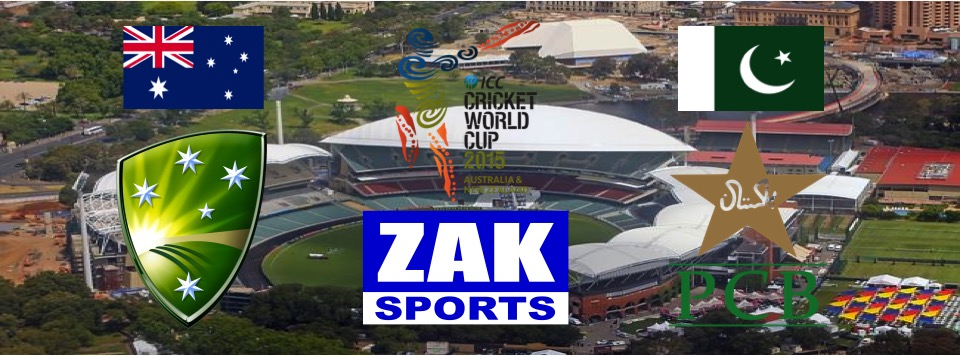 2015 ICC Cricket World Cup | Day 35 | Match 45 | 3rd QF | Australia v Pakistan | LIVE from the Adelaide Oval