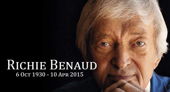 THE VOICE OF CRICKET, R. BENAUD PASSES AWAY, AGED 84.
