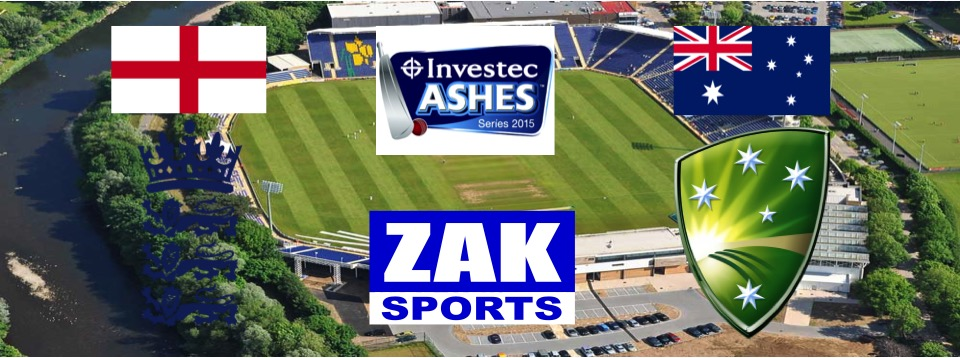 2015 Investec Ashes Series | 1st Test | England v Australia | Day 4 | LIVE from SWALEC Stadium, Cardiff
