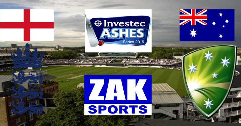 2015 Investec Ashes Series | 2nd Test | England v Australia | Day 2 | LIVE from Lord's