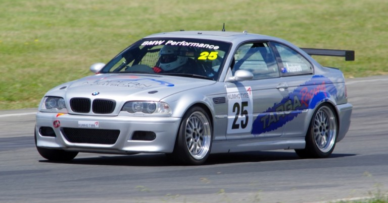 Murphy in a BMW for Series Return.