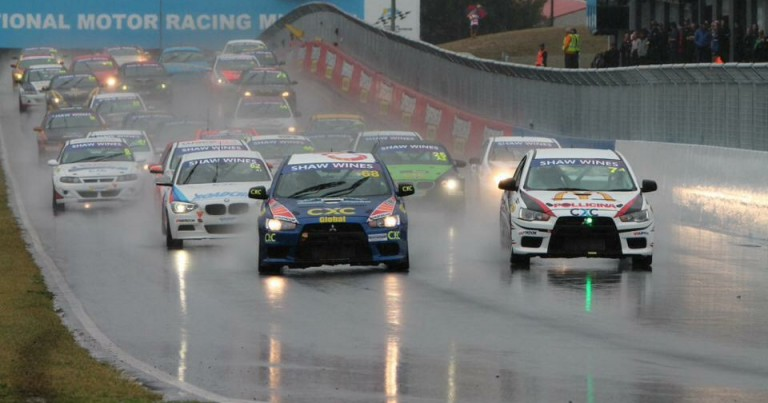 Flanagan Causes Upset in Wet Bathurst Opener.
