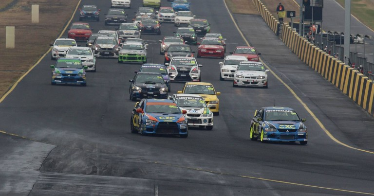 V8 Superlaps Production Touring Car Championship Partners with Soldier On.