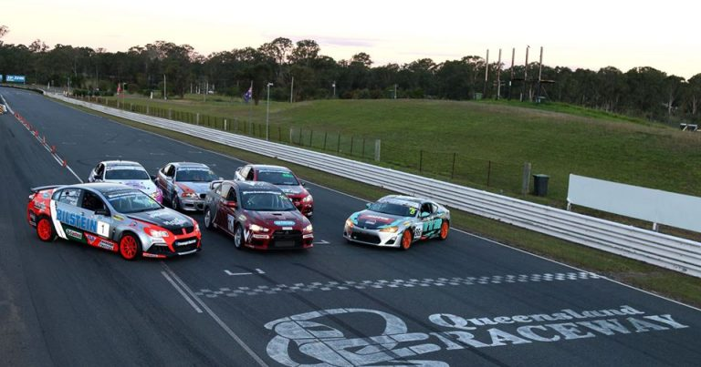 Night Racing Highlights Finale for Inaugural QLDPTC Championship.