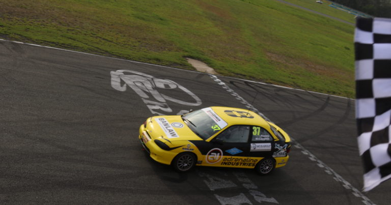 Peasey and McLaughlin Triumph in Bushranger 200 after Morning Engine Change.