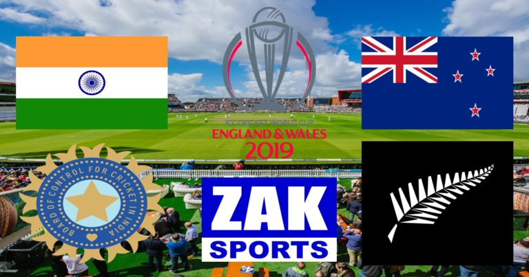 2019 ICC Cricket World Cup | 1st Semi-Final | India v New Zealand | LIVE from Old Trafford.