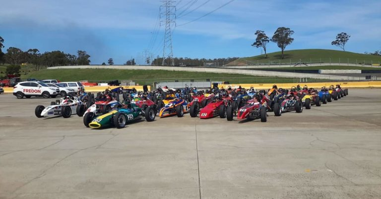 Queensland Raceway Hosts 47th Annual Australian Formula Vee National Challenge.